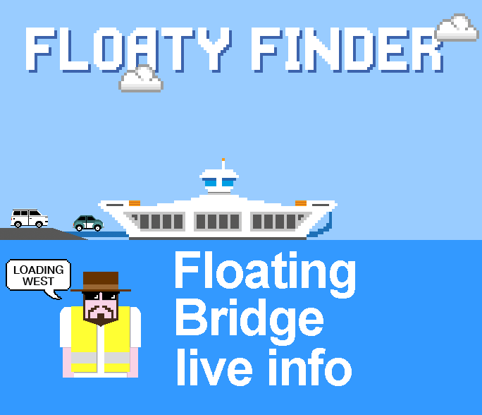 Cowes Floating Bridge live information