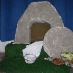 Easter 2009 Decoration - the Empty Tomb