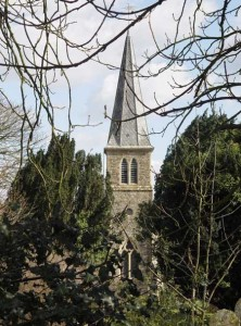 Northwood Church from the west
