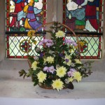 Floral Decoration in Resurrection Window