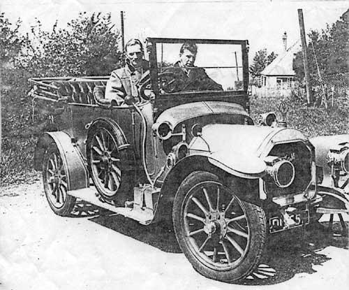 Above Image: The Mass: Raymond Porter (driving) and George Marvin