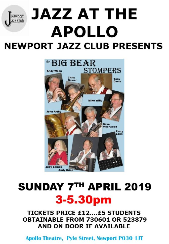 NJC Poster 20190407 Big Bear Stompers