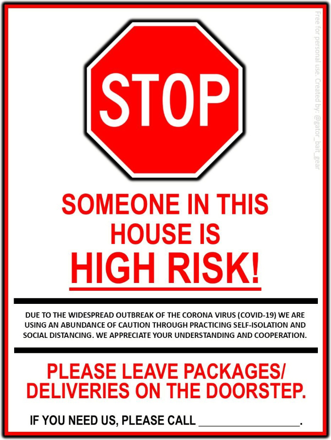 Poster stop high risk 680x