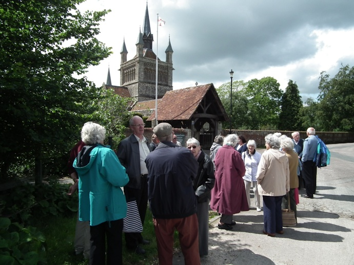 Visit to Whippingham Church 1