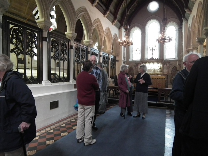 Visit to Whippingham Church 6